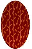 rug #231206 | oval natural rug