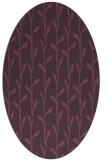 rug #231241   oval purple popular rug