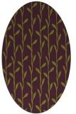rug #231245   oval purple popular rug