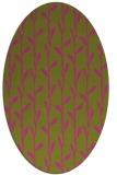 rug #231345 | oval light-green popular rug