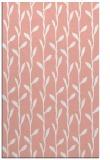 rug #231589 |  pink popular rug
