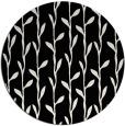 rug #231725 | round black natural rug