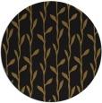 rug #231837 | round black natural rug