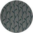 rug #231849 | round blue-green natural rug