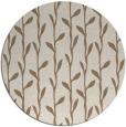 rug #231874 | round natural rug