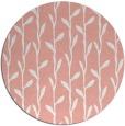 rug #231941 | round pink natural rug