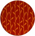 rug #231965 | round red natural rug