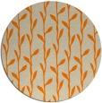 rug #232037 | round orange popular rug
