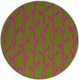 rug #232049 | round light-green rug