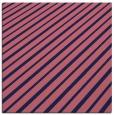 rug #232517 | square blue-violet stripes rug