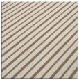 rug #232577 | square mid-brown stripes rug