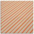 rug #232621   square orange retro rug