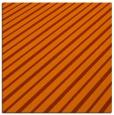 rug #232681 | square red-orange retro rug