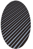 rug #232892 | oval stripes rug