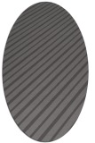 rug #232925 | oval brown retro rug