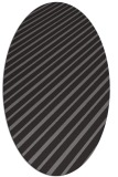 rug #232928   oval stripes rug