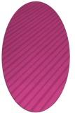 rug #232987 | oval stripes rug