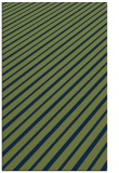 rug #233165 |  green stripes rug