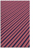 rug #233221 |  blue-violet stripes rug