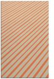 rug #233325    orange retro rug