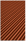 rug #233329 |  red-orange stripes rug