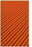 rug #233373 |  orange stripes rug