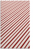 rug #233377 |  red stripes rug