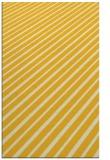 rug #233417 |  yellow retro rug