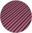 rug #233573   round blue-violet retro rug