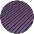 rug #233577 | round purple stripes rug