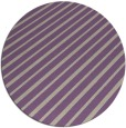 rug #233661 | round purple retro rug