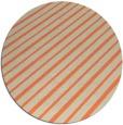 rug #233677 | round orange retro rug