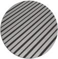 rug #233681 | round orange retro rug