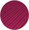 rug #233733 | round red stripes rug