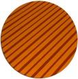 rug #233737 | round red-orange stripes rug