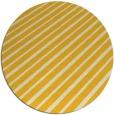 rug #233769 | round yellow retro rug