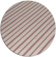 rug #233821 | round pink retro rug