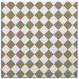 rug #234185 | square white check rug