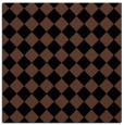 rug #234201 | square black retro rug
