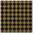 rug #234205 | square black check rug
