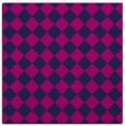 rug #234213   square pink check rug