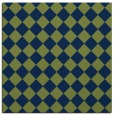 rug #234221 | square green retro rug