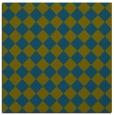 rug #234245   square green retro rug