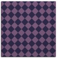 rug #234281 | square purple check rug