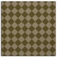 rug #234305 | square mid-brown check rug