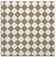 rug #234325 | square mid-brown check rug