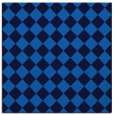 rug #234353 | square blue check rug