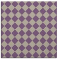 rug #234365 | square purple check rug