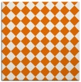 rug #234377 | square orange check rug