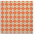 rug #234381 | square orange check rug